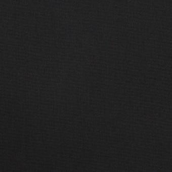 コットン&リヨセル混×無地(ブラック)×ブロードストレッチ サムネイル1