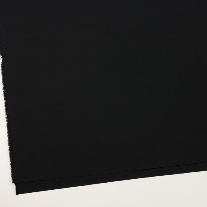 コットン×無地(ブラック)×タイプライター(高密ローン) イメージ2
