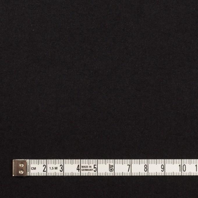 コットン×無地(チャコールブラック)×高密ポプリン・ワッシャー イメージ4