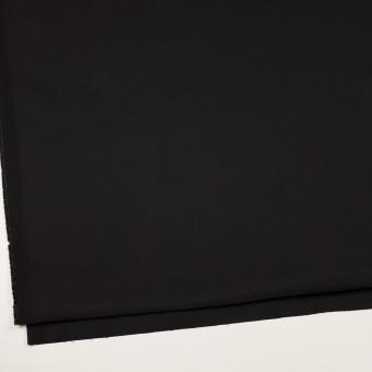 コットン&ポリウレタン×無地(ブラック)×サテンストレッチ サムネイル2
