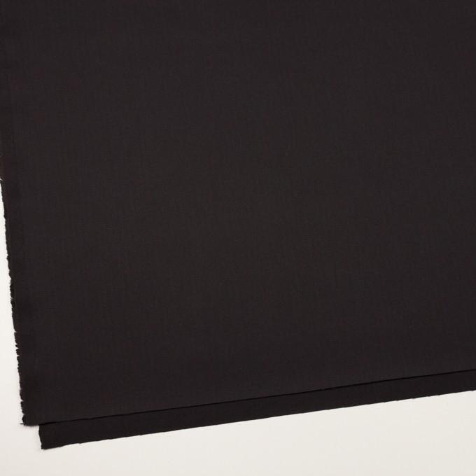 コットン×無地(チャコールブラック)×ヘリンボーン イメージ2
