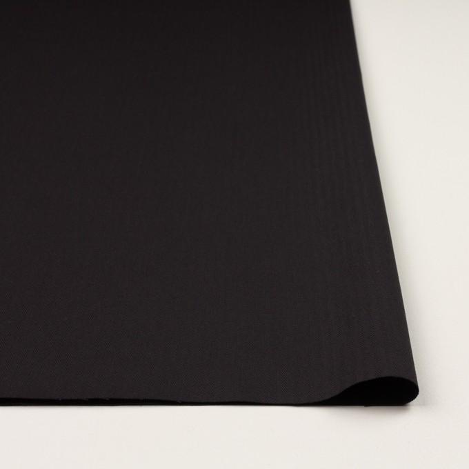 コットン×無地(チャコールブラック)×ヘリンボーン イメージ3
