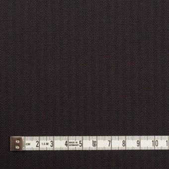 コットン×無地(チャコールブラック)×ヘリンボーン サムネイル4