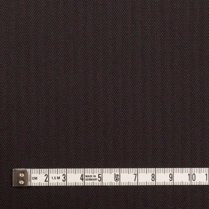 コットン×無地(チャコールブラック)×ヘリンボーン イメージ4