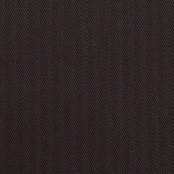コットン×無地(チャコールブラック)×ヘリンボーン