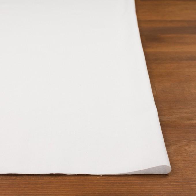コットン×無地(ホワイト)×ジョーゼット_全5色 イメージ3