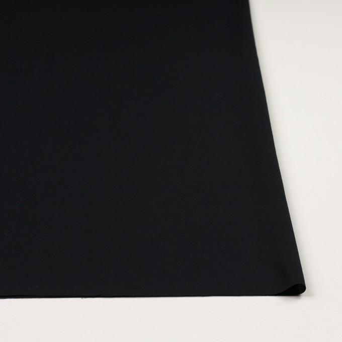 コットン×無地(ブラック)×ジョーゼット_全5色 イメージ3