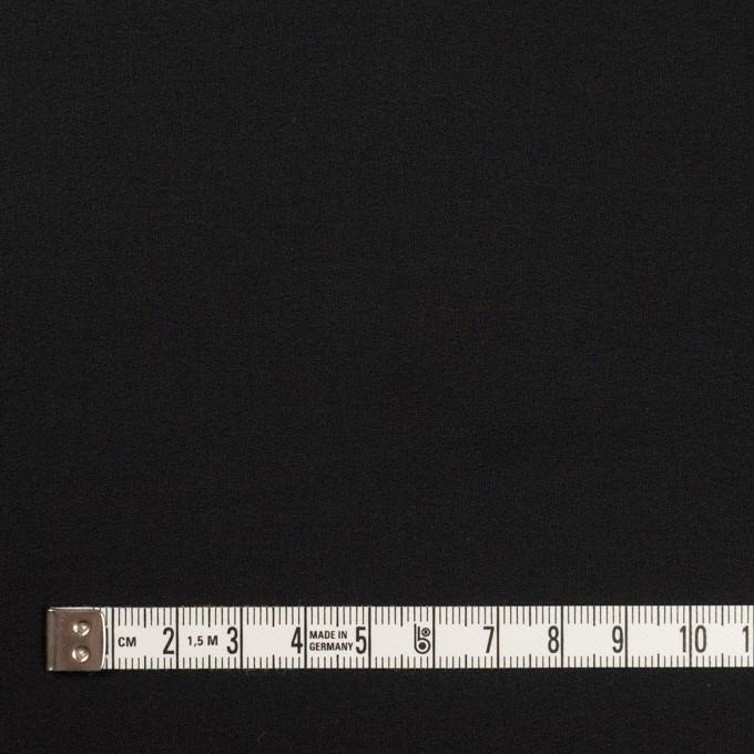 コットン×無地(ブラック)×ジョーゼット_全5色 イメージ4