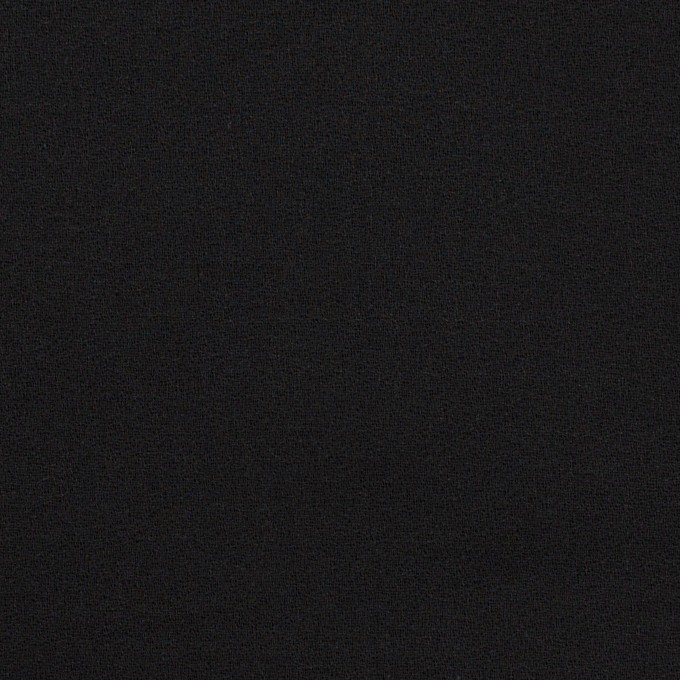 コットン×無地(ブラック)×ジョーゼット_全5色 イメージ1