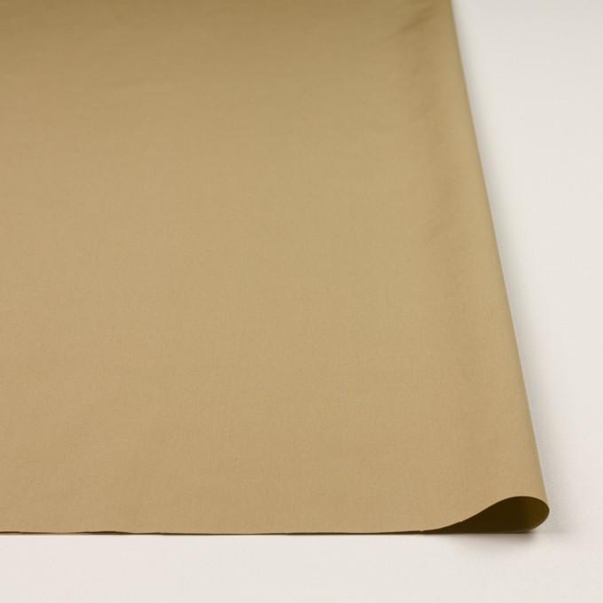 コットン×無地(オーカー)×ブロード_全3色 イメージ3