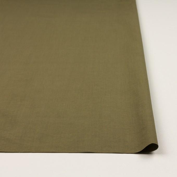 コットン×無地(カーキグリーン)×タイプライター(高密ローン)・ワッシャー_全2色 イメージ3
