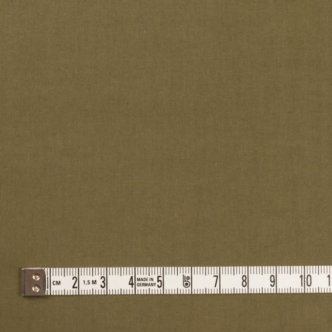 コットン×無地(カーキグリーン)×タイプライター(高密ローン)・ワッシャー_全2色 イメージ4