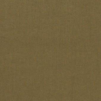 コットン×無地(カーキグリーン)×タイプライター(高密ローン)・ワッシャー_全2色