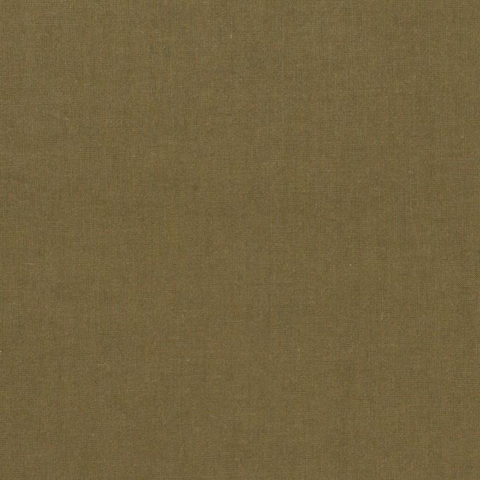コットン×無地(カーキグリーン)×タイプライター(高密ローン)・ワッシャー_全2色 イメージ1
