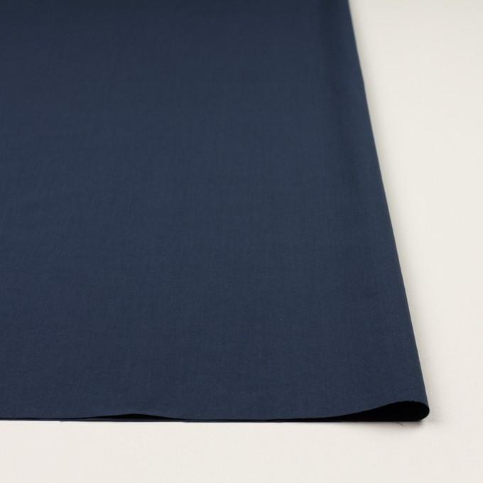 コットン×無地(ネイビー)×タイプライター(高密ローン)・ワッシャー_全2色 イメージ3