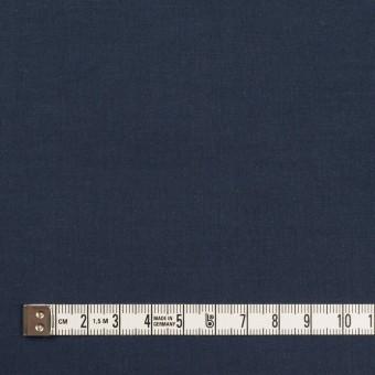 コットン×無地(ネイビー)×タイプライター(高密ローン)・ワッシャー_全2色 サムネイル4