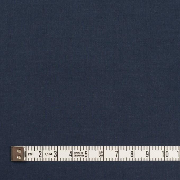 コットン×無地(ネイビー)×タイプライター(高密ローン)・ワッシャー_全2色 イメージ4
