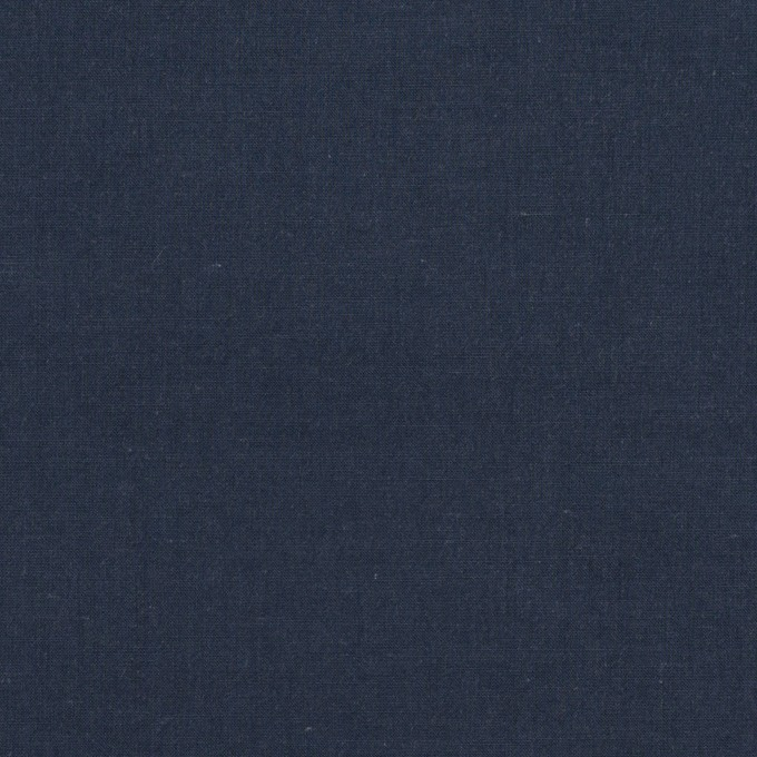 コットン×無地(ネイビー)×タイプライター(高密ローン)・ワッシャー_全2色 イメージ1