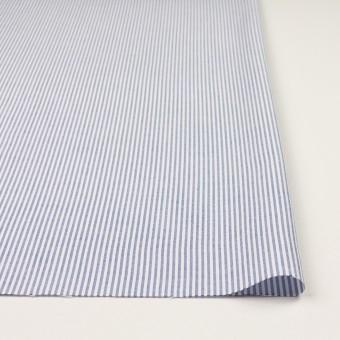 コットン×ストライプ(ブルー)×オックスフォード サムネイル3