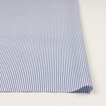 コットン×ストライプ(ブルー)×薄オックスフォード サムネイル3