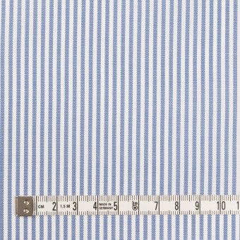 コットン×ストライプ(ブルー)×薄オックスフォード サムネイル4