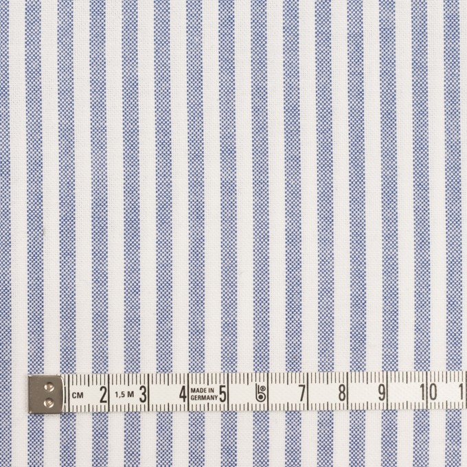 コットン×ストライプ(ネイビー)×オックスフォード イメージ4