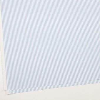 コットン&ポリエステル×ストライプ(サックス)×薄オックスフォード_全2色 サムネイル2