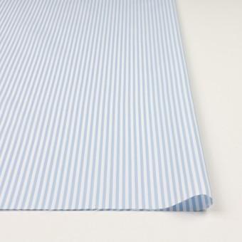 コットン&ポリエステル×ストライプ(サックス)×薄オックスフォード_全2色 サムネイル3