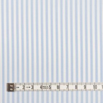コットン&ポリエステル×ストライプ(サックス)×薄オックスフォード_全2色 サムネイル4