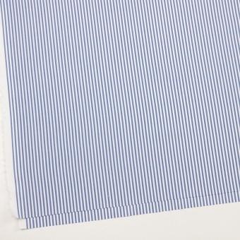 コットン&ポリエステル×ストライプ(ブルー)×薄オックスフォード_全2色 サムネイル2