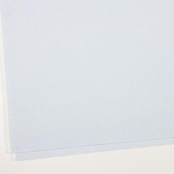 コットン×ストライプ(サックス)×斜子織_全2色 サムネイル2