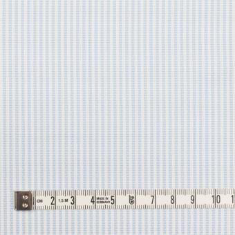 コットン×ストライプ(サックス)×斜子織_全2色 サムネイル4