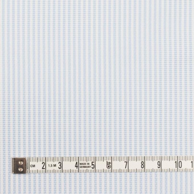 コットン×ストライプ(サックス)×斜子織_全2色 イメージ4