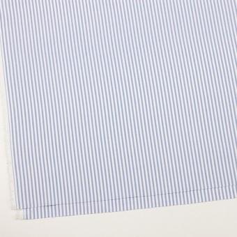コットン×ストライプ(ヒヤシンスブルー)×斜子織_全2色 サムネイル2
