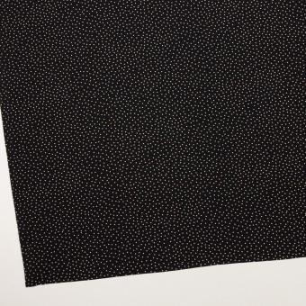 ポリエステル×ドット(ブラック)×ジョーゼット サムネイル2