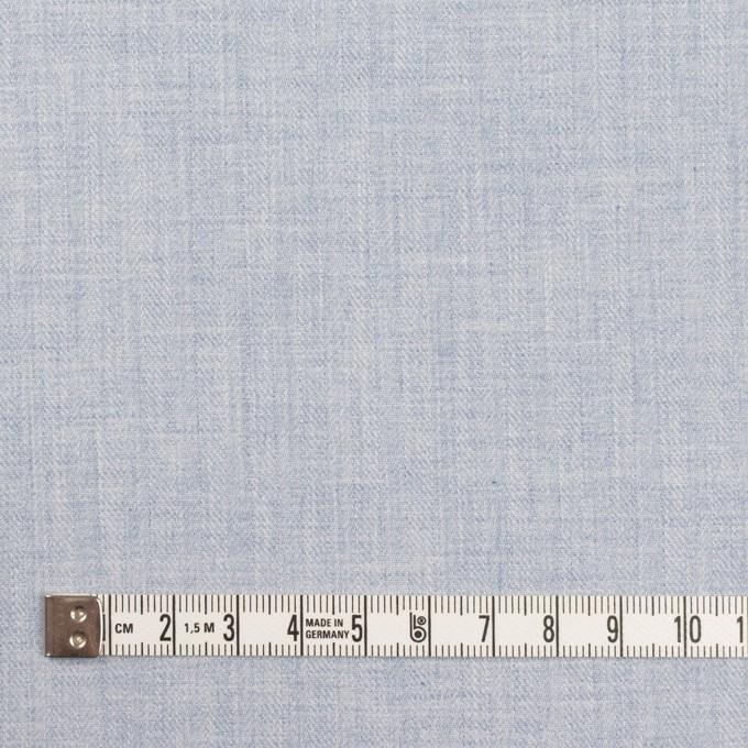 コットン×無地(ペールブルー)×ヘリンボーン イメージ4