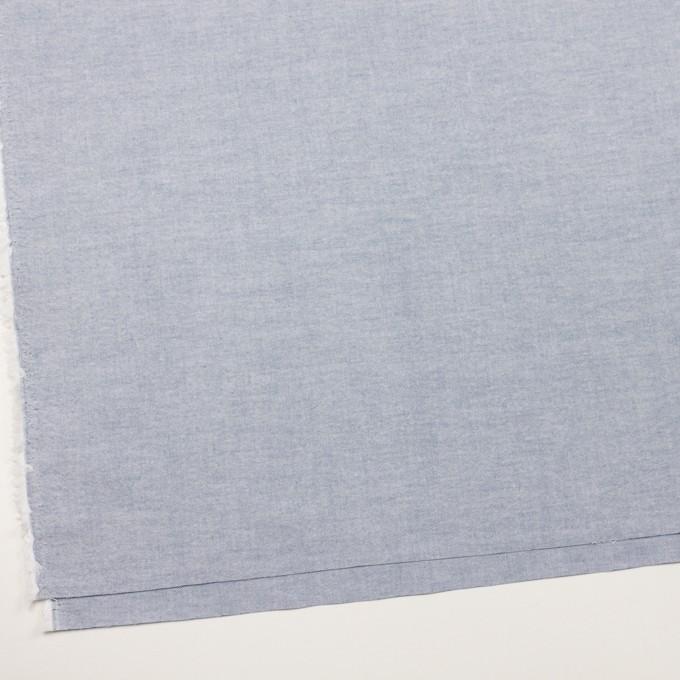 コットン×無地(サックスブルー)×オックスフォード イメージ2