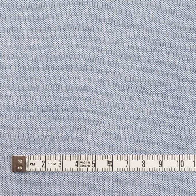 コットン×無地(サックスブルー)×オックスフォード イメージ4