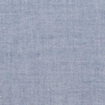 コットン×無地(サックスブルー)×オックスフォード