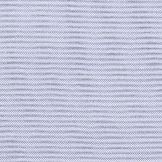 コットン×無地(サックス)×オックスフォード イメージ1
