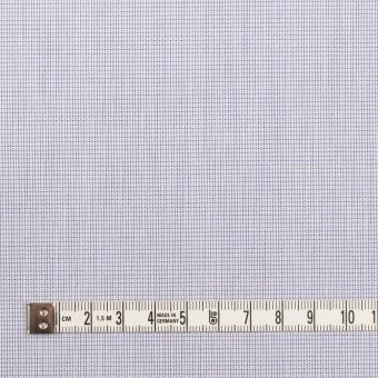 コットン×チェック(ラベンダーブルー)×ブロード サムネイル4