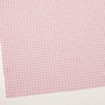 コットン×チェック(ピンク)×ブロードジャガード サムネイル2