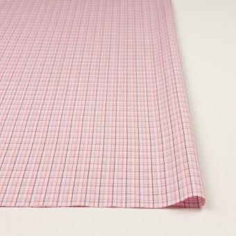 コットン×チェック(ピンク)×ブロードジャガード サムネイル3
