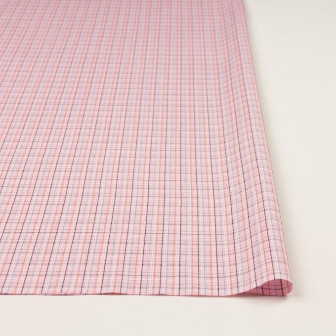 コットン×チェック(ピンク)×ブロードジャガード イメージ3