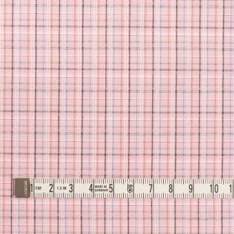 コットン×チェック(ピンク)×ブロードジャガード サムネイル4