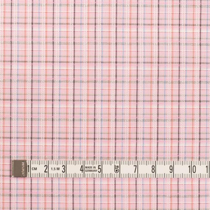 コットン×チェック(ピンク)×ブロードジャガード イメージ4