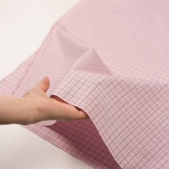コットン×チェック(ピンク)×ブロードジャガード サムネイル5