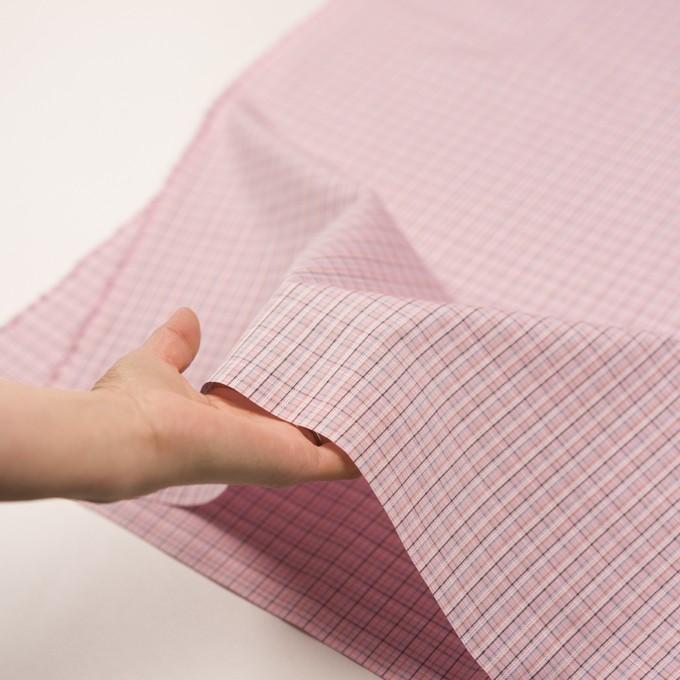 コットン×チェック(ピンク)×ブロードジャガード イメージ5