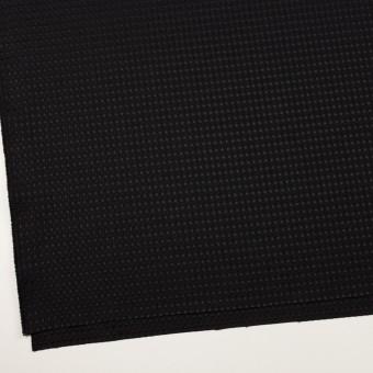 ポリエステル×ドット(ブラック)×ジャガード サムネイル2