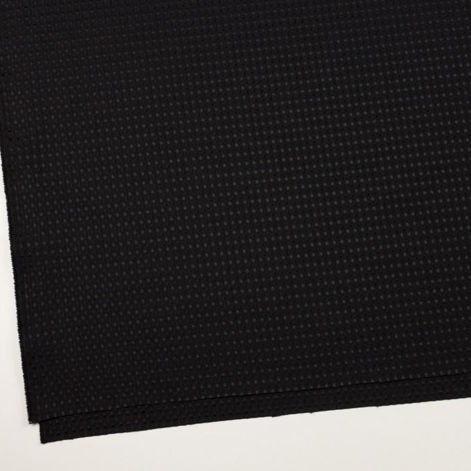 ポリエステル×ドット(ブラック)×ジャガード イメージ2